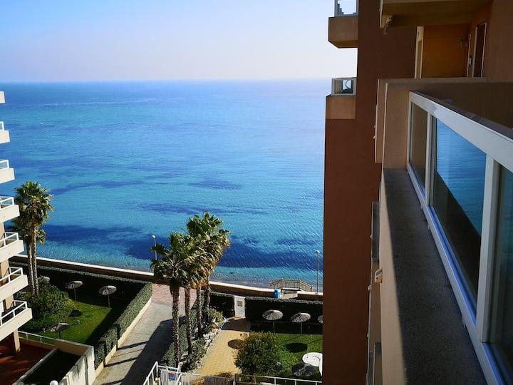 Estupendo apartamento 1ª Línea Playa, La Manga
