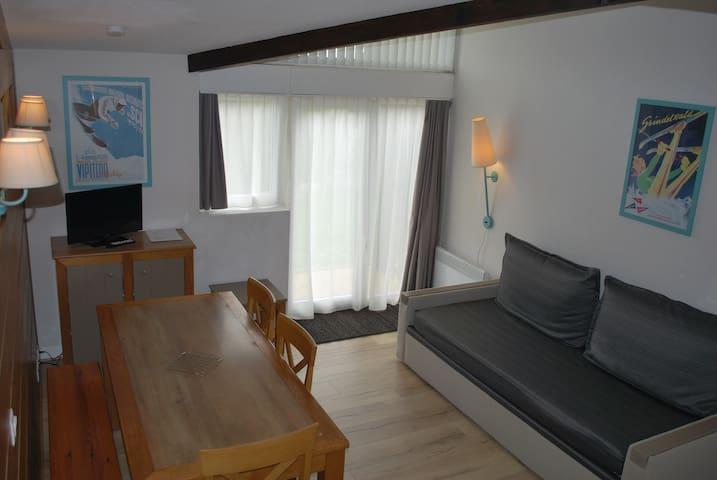 Duplex 6 couchages très bien situé