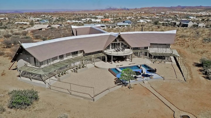 Namibia Villa Zula B&B: 1 Queen Sky Room (#3)