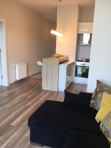 New flat in middle of city withView - Tbilisi - Huis