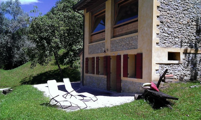 Casa sulle colline del ProseccoDOCG.Food and Bike! - Combai - House