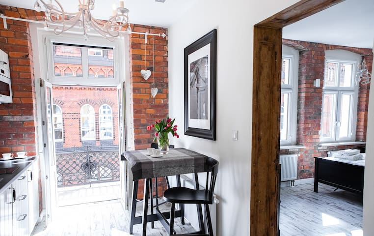 Apartament Pocztowa Superior z balkonem