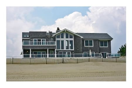 Prime Oceanfront home Holiday Rates - Loveladies