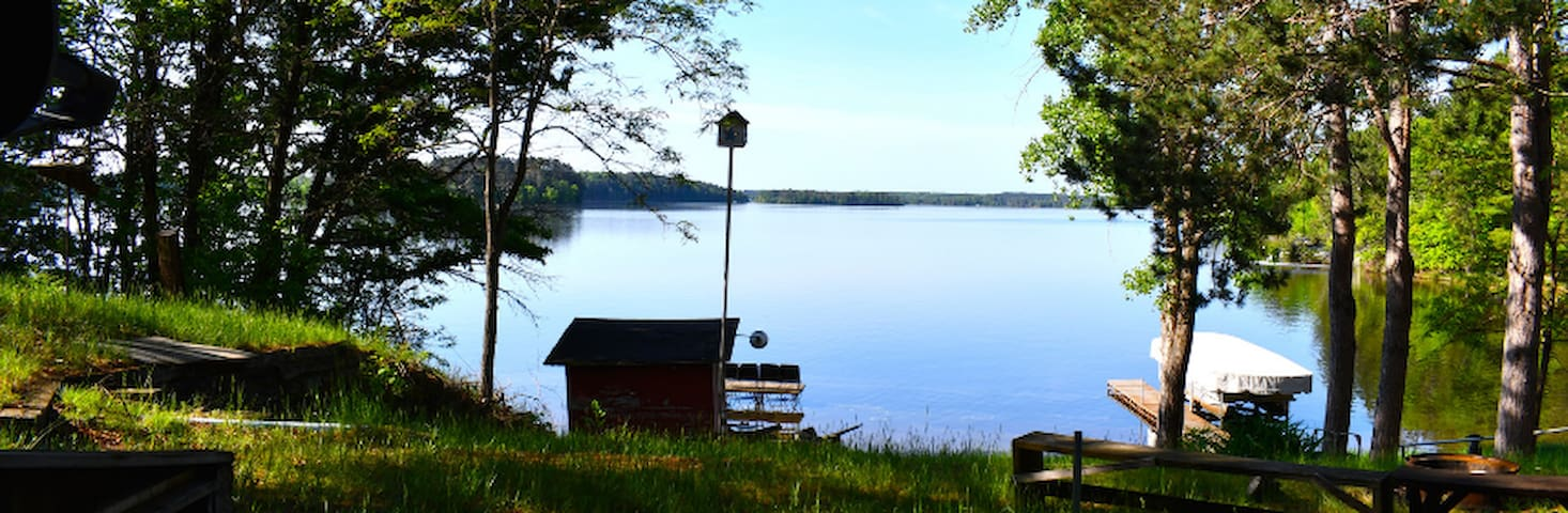 ⭐️ Serene Lakefront Cabin in Northern Wisconsin!