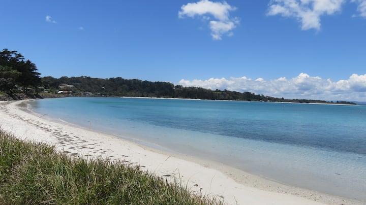 White Sandy Beach on Your Doorstep