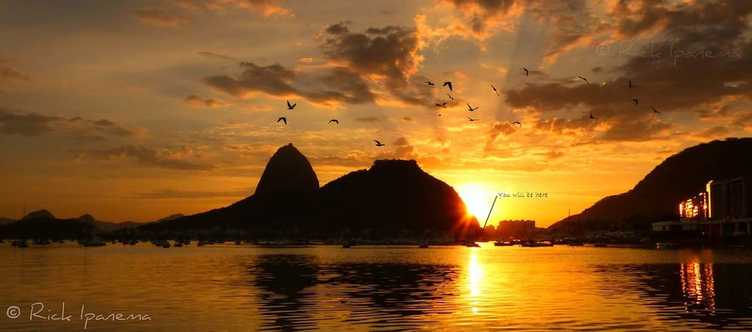 Flat in front of Sugar Loaf - Urca - Rio de Janeiro - Apartamento