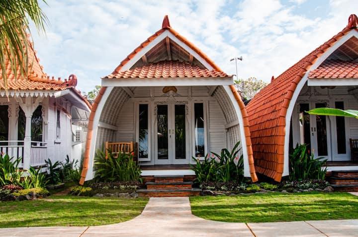 Elysium Lumbung House Twin room