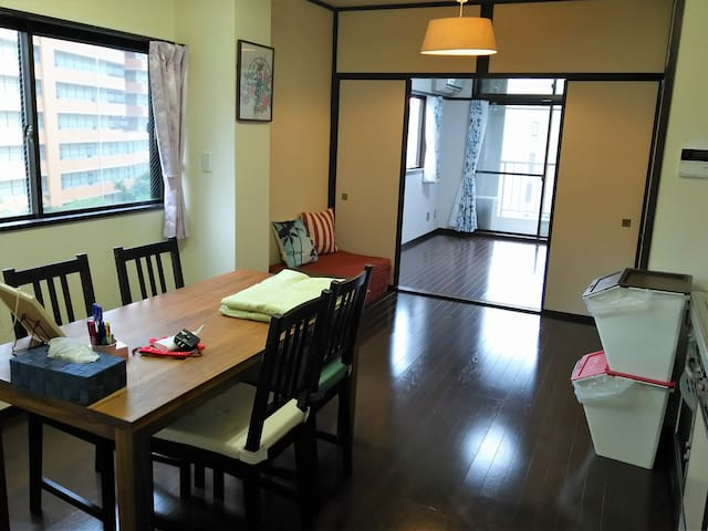 Sunny Apt with bikes! Super Central near Gion! - 京都市
