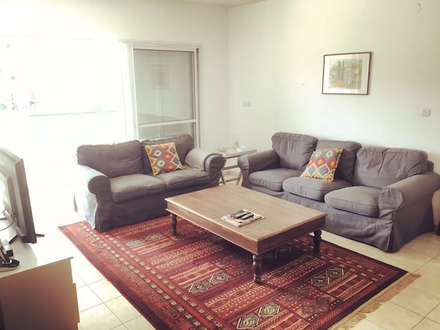 Comfy enough to host friends and family - Ra'anana - Lägenhet