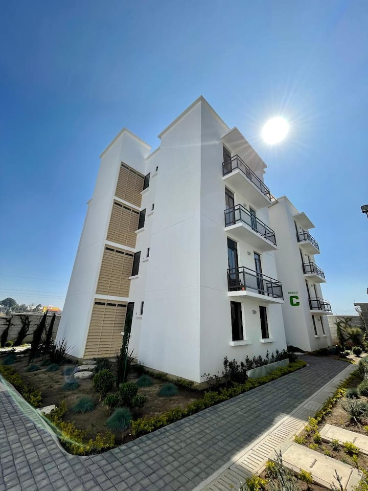 Apartamento equipado en área financiera de Xela