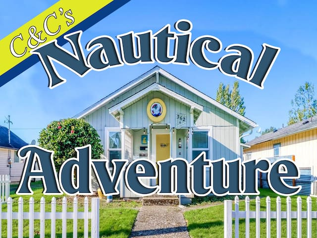 "C&C's Coastal Cottage Apt. A ""Nautical Adventure"""