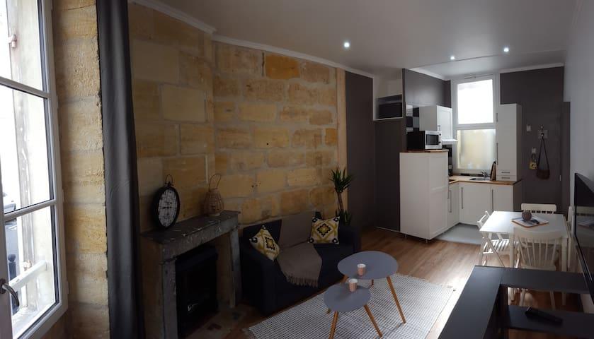 Appartement chaleureux tout équipé - Bordeaux