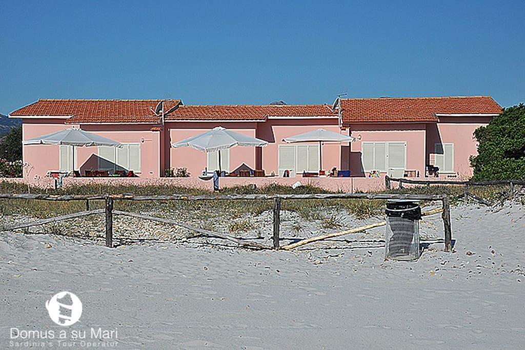 Villetta la cinta beach b reihenh user zur miete in san for B b san teodoro