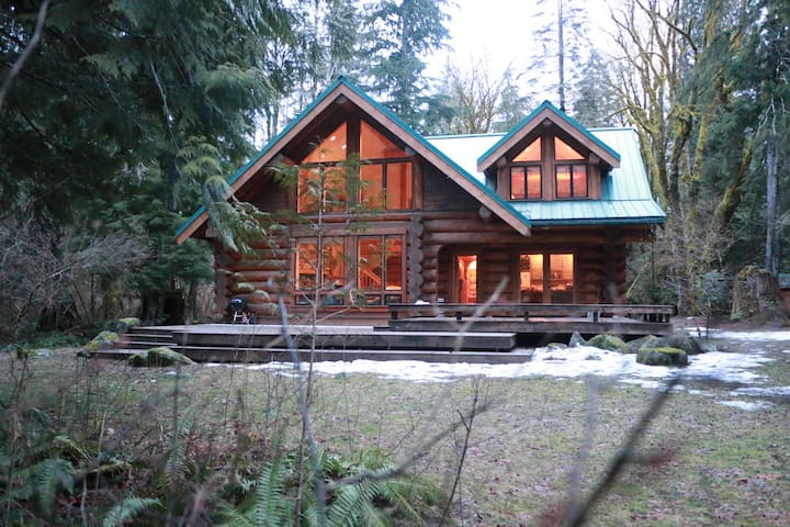 SKYKOMISH RIVER LODGE - Baring - Srub