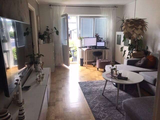 Lägenhet med 5 sovplatser