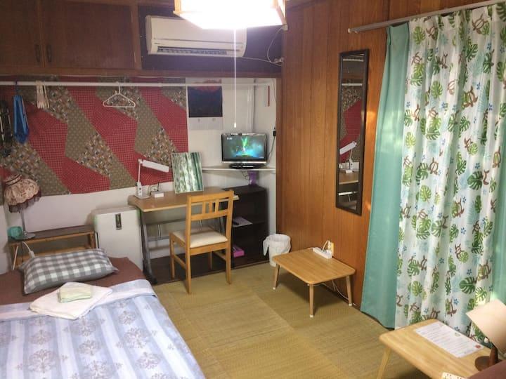 BODY BALANCE HOUSE Economy Twin Room エコノミーツインルーム