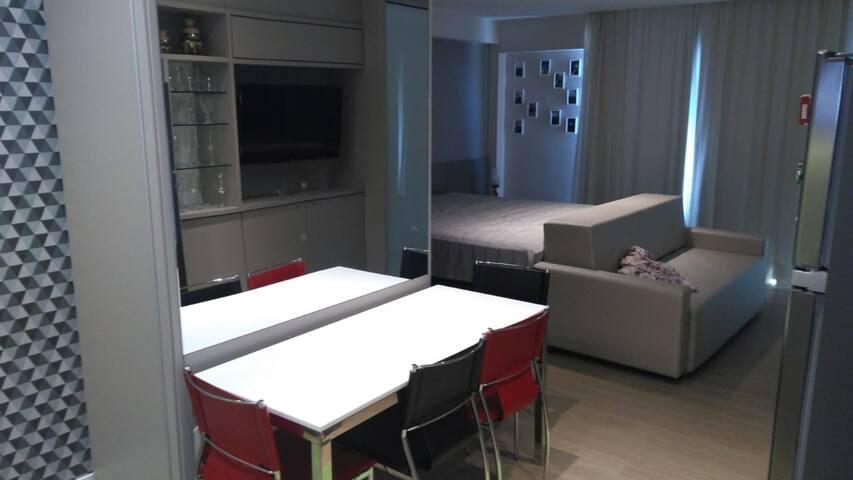Apartamento  Hotel B vista Azul - Pedra Azul - ES