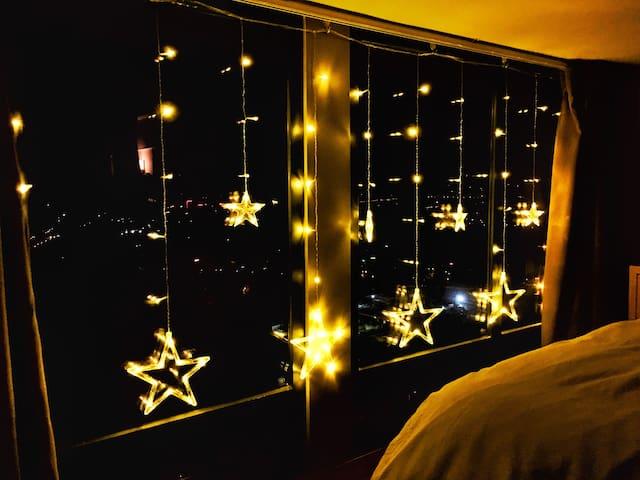【Little Star】广州长隆地铁旁温暖loft高层复式