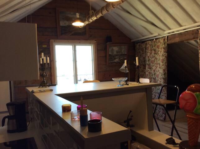 Fantastisk lägenhet/studio centrala öregrund