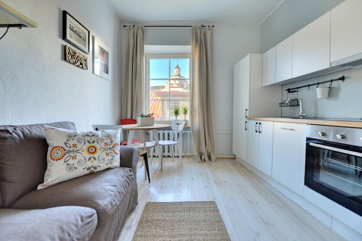 Bright and Homey Old Town Apartment