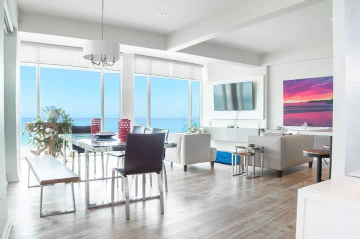 Beautiful ocean front penthouse