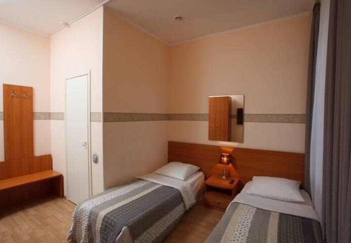 Twin room in Chalet de Provence Ligovsky