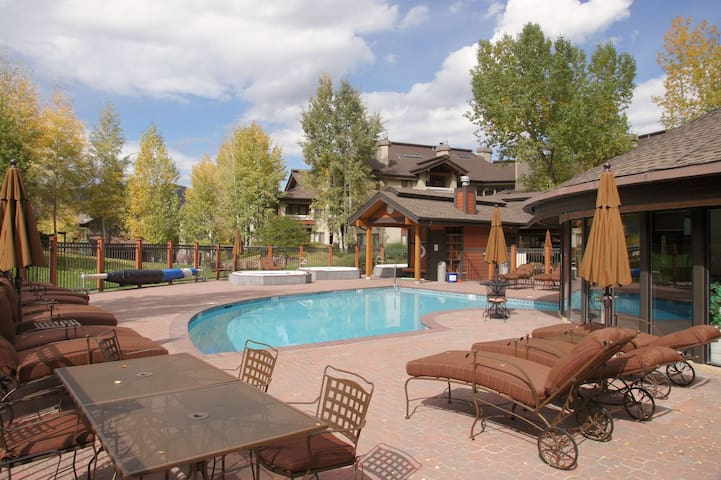 1 of 4 Heated Pool and Hot Tub areas