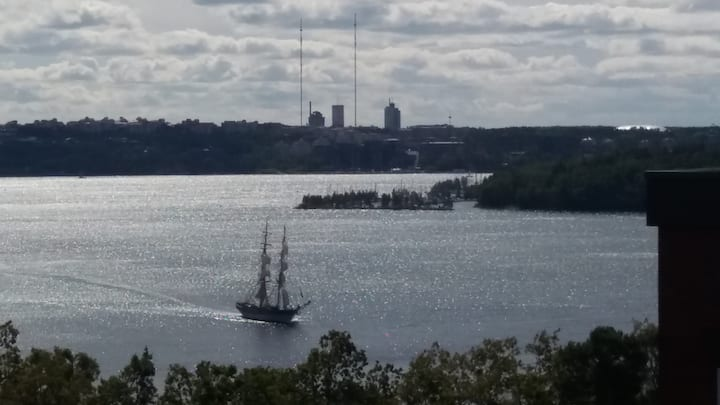 Southside of beautiful Lidingö island