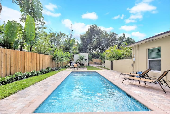 626B FLL Studio- 1.5 mi to Beach & Las Olas Blvd