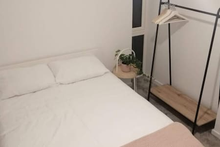 New House**King/twin beds in locked private room
