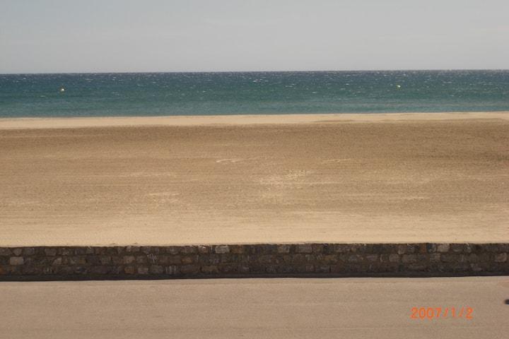 Face à la mer, WiFi, 15 mn la réserve africaine