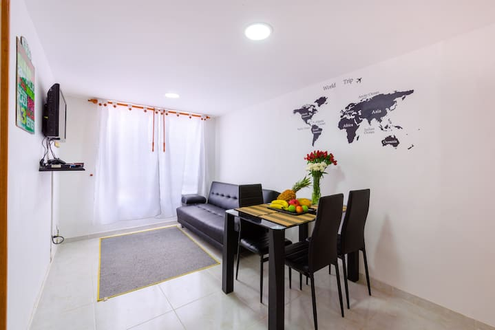 Free Pickup 15' airport, Perfect to Rest - Bogotá - Apartamento