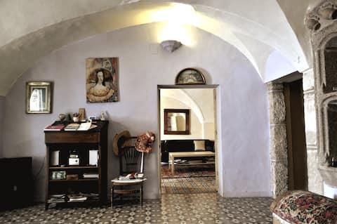 Habitación con cama doble Casa Rural La Cantarera