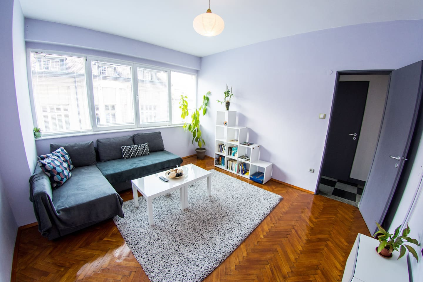 Living-room (with sofa-bed)