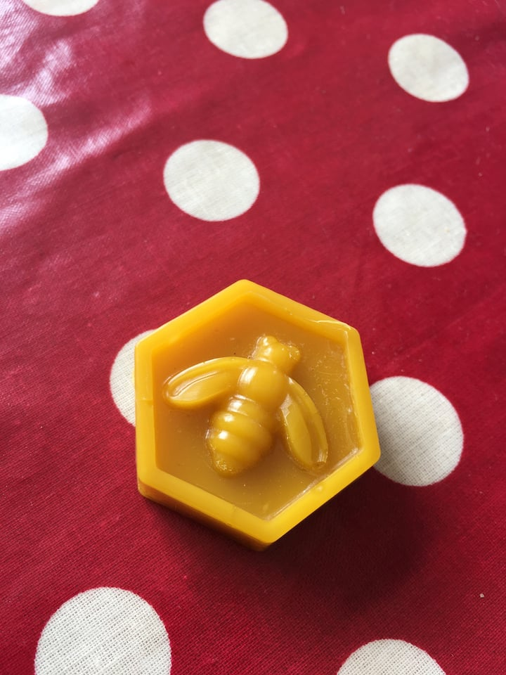 My own bees beeswax
