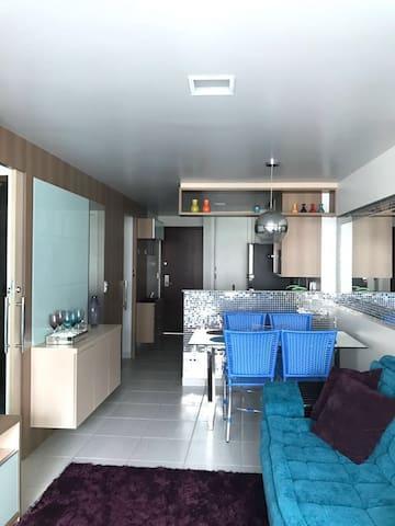 Apartamento na Beira-Mar de Fortaleza