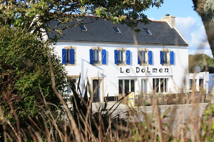 Chambres d'hôtes Le Dolmen - Chambre GWEN