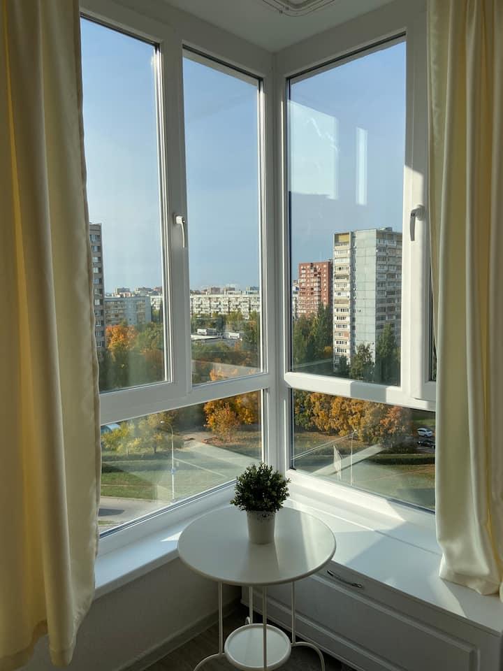 Новые , уютные  апартаменты на 40 лет Победы 43 Д