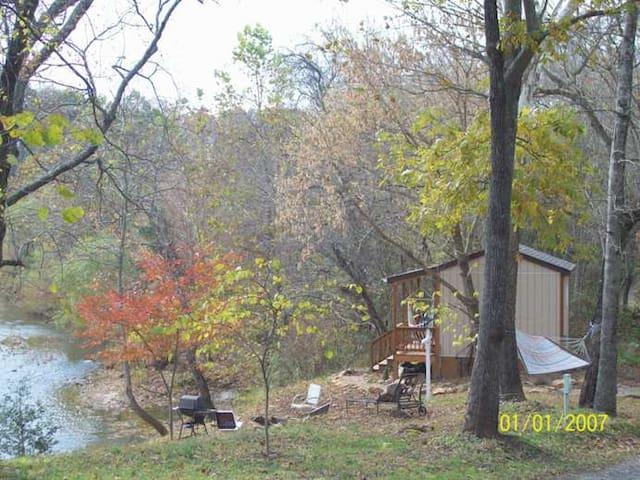 Pop's Place on the Rapidan River.