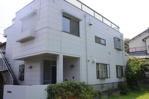 Shonan-Hiratsuka, 海まで徒歩7分の戸建てシーサイドゲストハウス