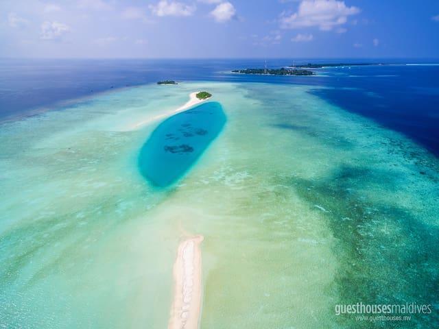 Shallow Lagoon Rasdhoo - Rasdhoo