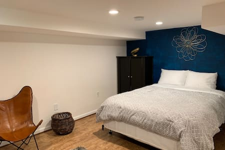 Cozy Basement Suite 5 minutes from DC Metro Line