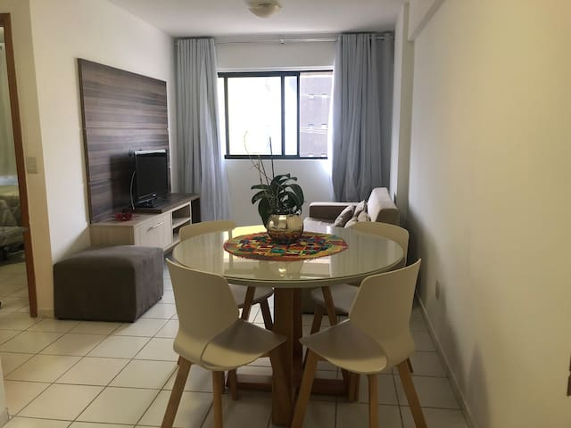 Apartamento quarto e sala na melhor localização
