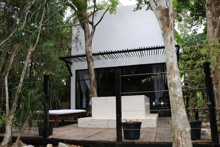 Loft para parejas en medio de la selva
