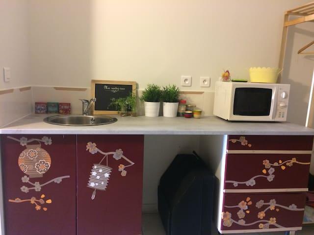 studio dans charmante maison de village - Baixas - Andet