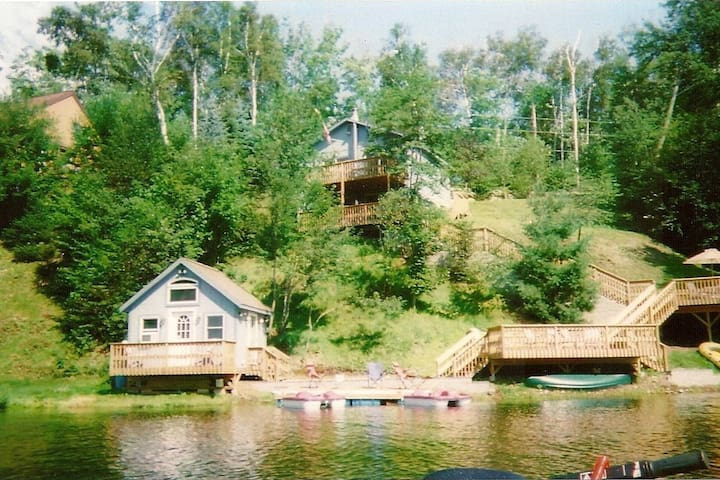 Primary Home on Eden Lake Water Front.