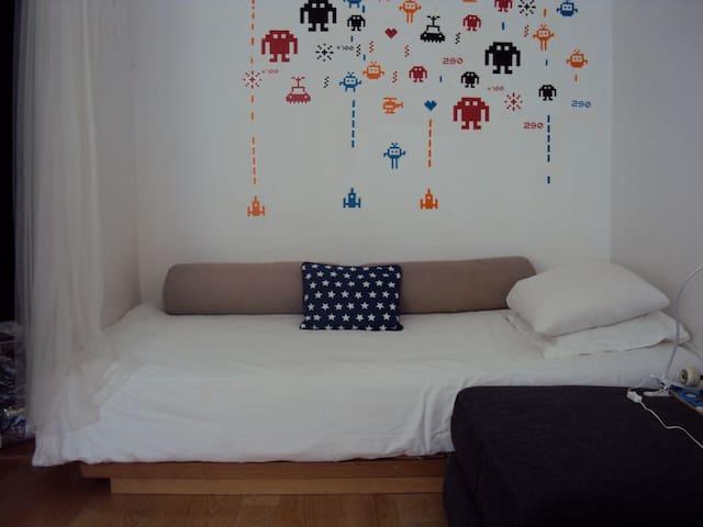 Single bedroom in artist loft - Oporto - Loft