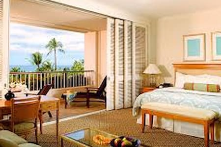 master bedroom and ocean view