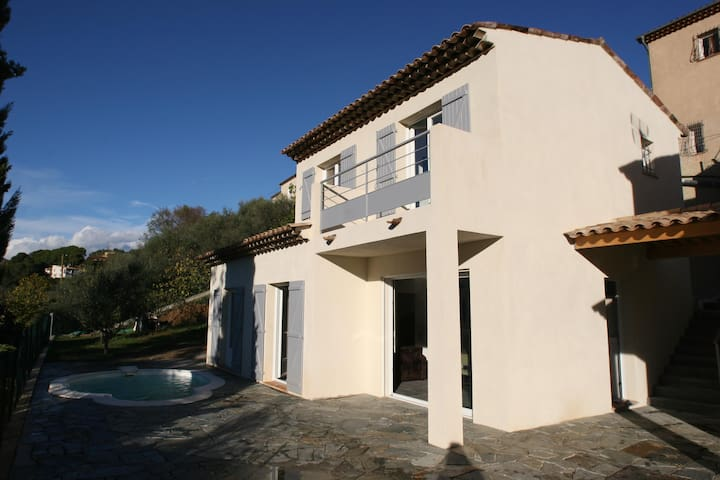 Maison avec piscine, proche de NICE - Saint-Martin-du-Var - Rumah