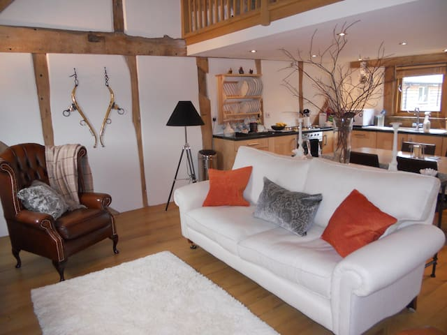 Luxury two bedroom barn conversion - Titley, Kington - House